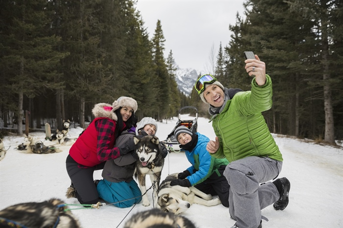 Explore Banff by Dog Sled!