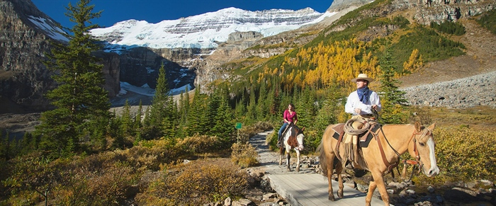 Rocky Mountain Horseback Adventures with Banff Adventures