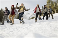 Keeping fit in Banff this winter