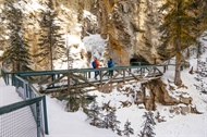 Johnston Canyon Icewalks with Banff Adventures