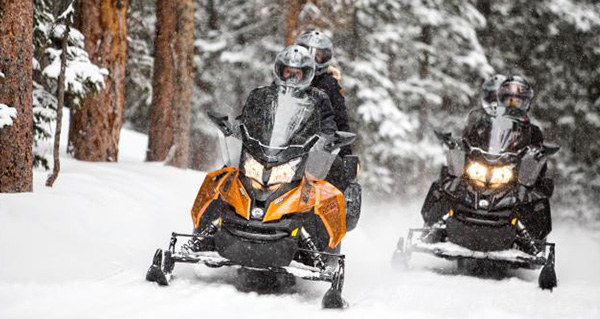 The Best Snowmobiling Near Banff National Park