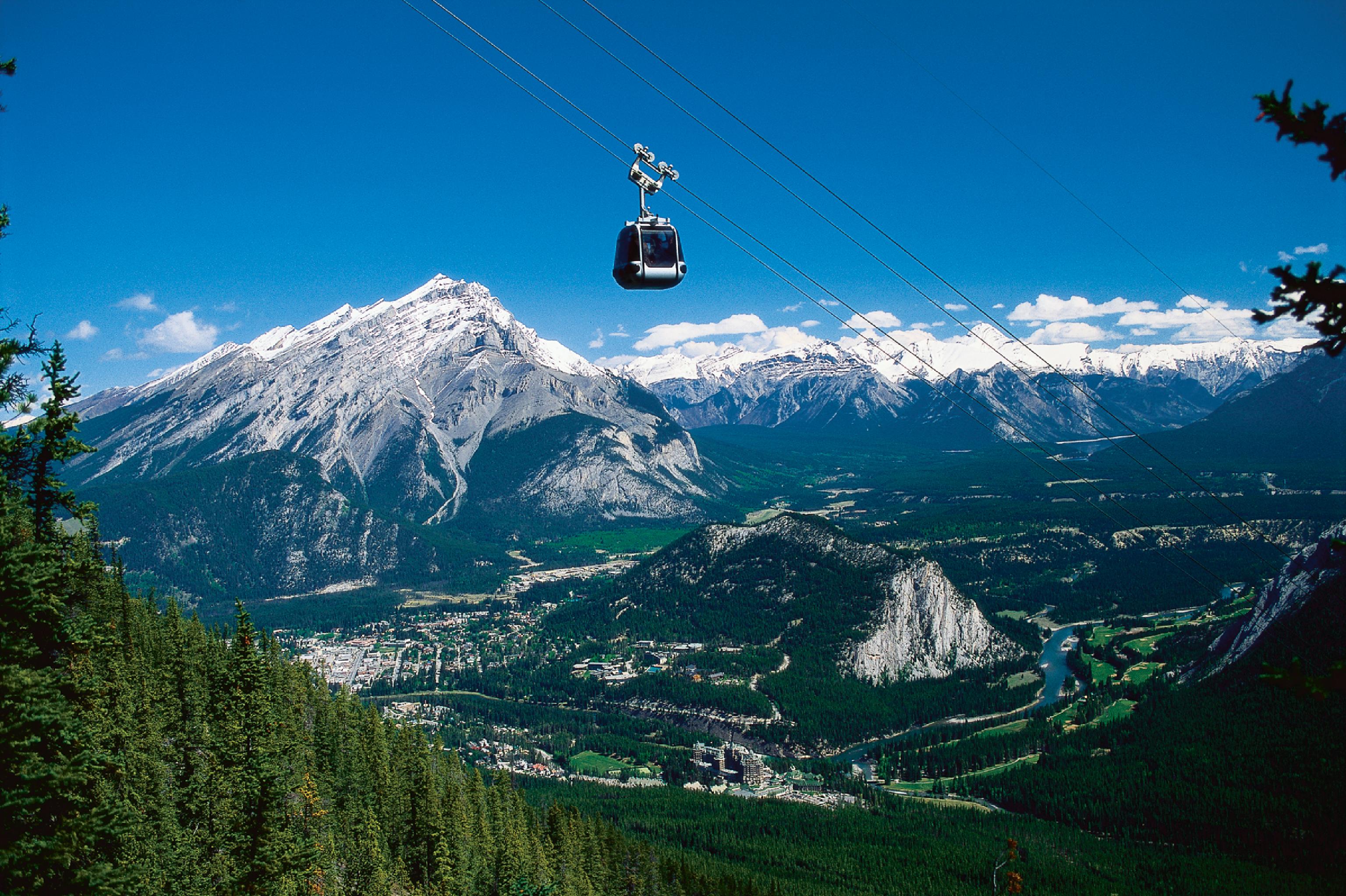 Reaching to the Sky - The Historic Banff Gondola