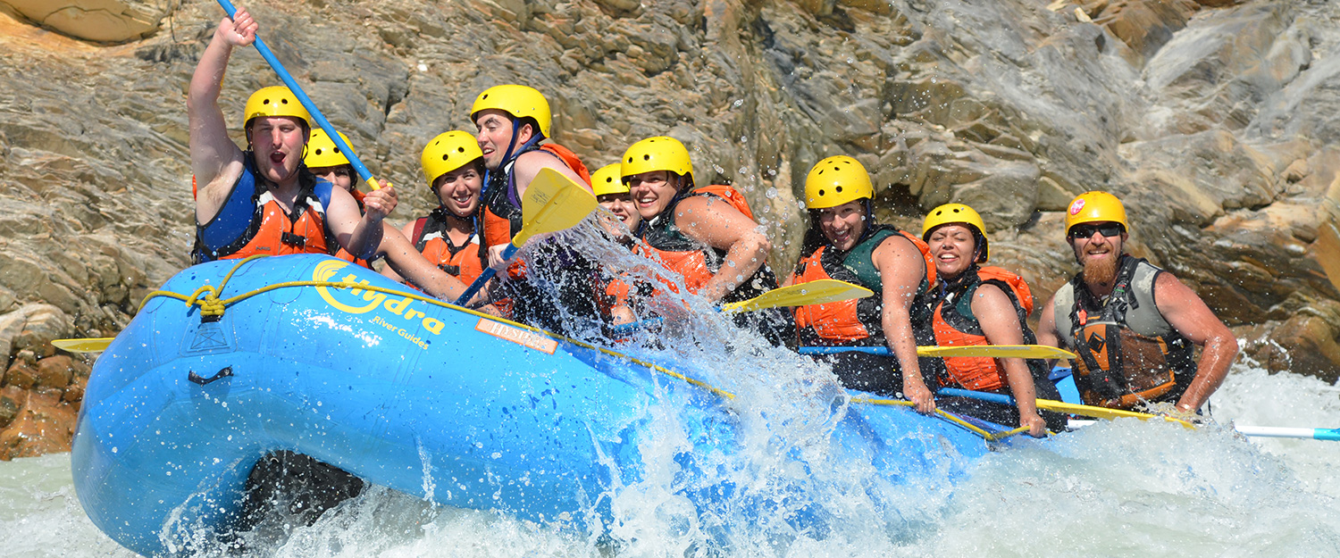 Banff Rafting Packages