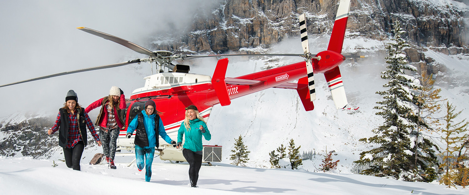 Helicopter Tours Winter