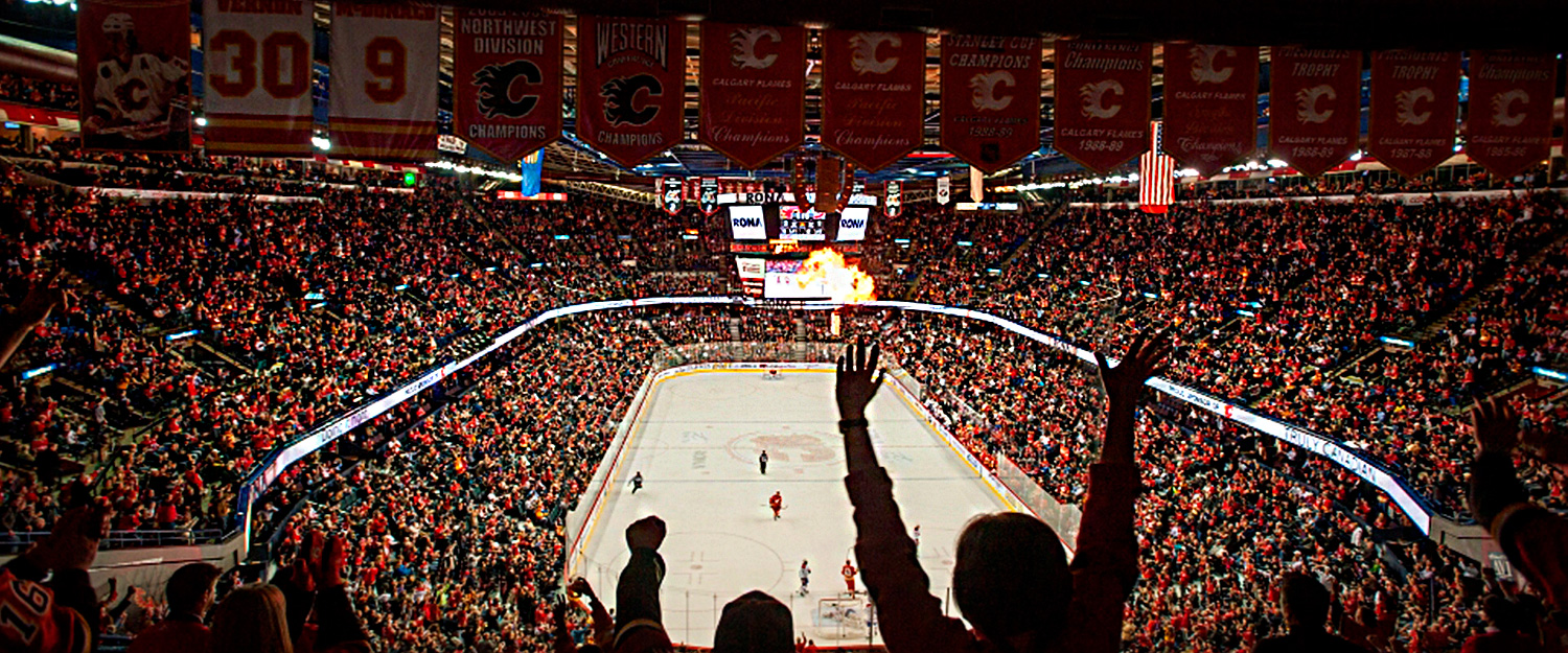 Calgary Flames Hockey Game Packages