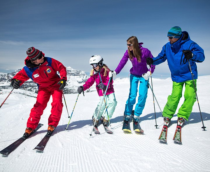 Banff Skiing and Snowboarding Lessons